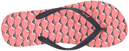 Tom Joule Damen Sandy Zehentrenner Soft Coral Oyster Catcher