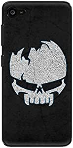 The Racoon Lean printed designer hard back mobile phone case cover for Lenovo Z2 Plus. (Cracked Sk)