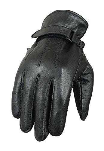 Leder Modisch Chopper Motorrad Pferd Reiten Handschuhe - XL
