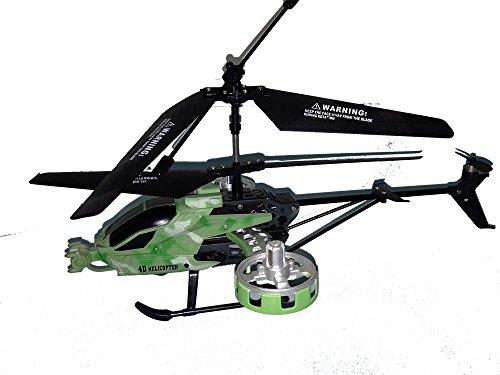 WildWear Volitation 4CH Helicóptero Radio Control RC 4 Canales. Avatar con frame de metal - Remote Control Helicopter Toy Metal Frame Avatar