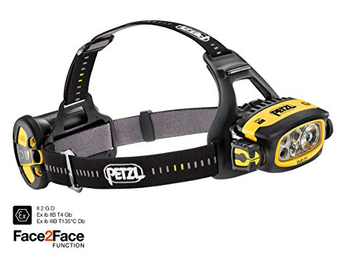 Petzl Duo Z1 Stirnlampen Black One Size