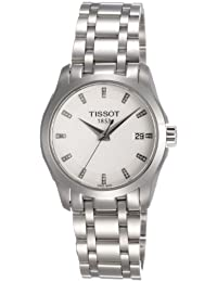 Damen-Armbanduhr XS Analog Quarz Edelstahl T035.210.11.016.00