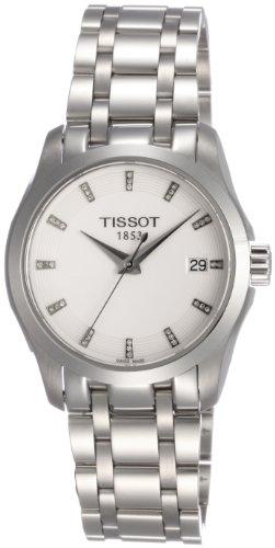 Tissot T0352101101600 T035.210.11.016.00 – Reloj para mujeres, correa de acero inoxidable color plateado