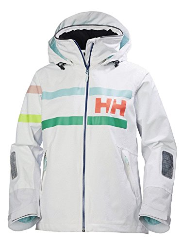 Helly Hansen Damen Salt Power Jacke, Weiß, M