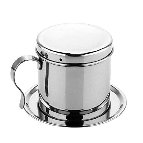 Vogvigo Edelstahl Kaffee gießen über Dripper vietnamesischen Topf traditionellen Stil Cafe Latte Filter Portable Cup Espresso Kaffee Drip Maker Kessel Mit Schwanenhals