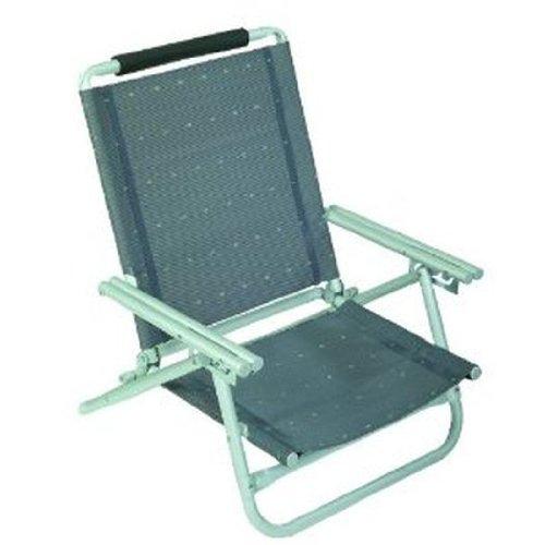 STABIELO-chaise de plage aLU-anthracite-poids : env. 2,8 kg-sangle de transport-charge maximale : 120 kg option lt. figure moyennant supplément hOLLY avec fächerschirm-bleu-jaune-rouge-argent - 360° et hOLLY universalgelenkhalterung lieferbar. innovation fabriqué en allemagne-hOLLY produits sTABIELO-hOLLY-sunshade ®! moyennant supplément avec hOLLY-fÄCHERSCHIRMEN !