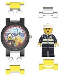 Lego - Montre 'Pompier' - Enfant - Rouge, Blanc, Jaune