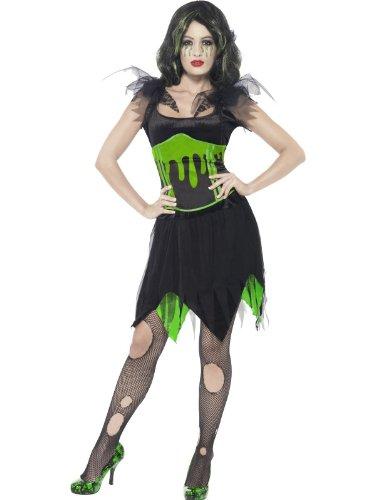 Kostüm Braut Monster - Monster Braut Kostüm Halloween, Größe:S