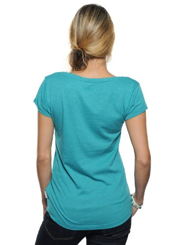 BoomBap BADLY ONCE TEE CREW NECK WOMEN MIXED BLUE GRASS