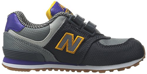 New Balance KG574 Expedition Running Shoe (Infant/Toddler) Grey/Purple