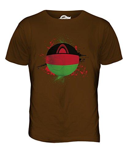 CandyMix Malawi Fußball Herren T Shirt Braun