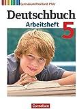 Deutschbuch Gymnasium - Rheinland-Pfalz: 5. Schuljahr - Arbeitsheft mit Lösungen