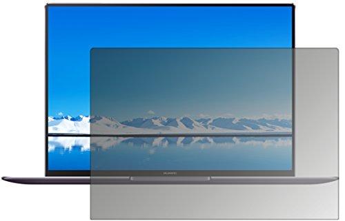 dipos I Blickschutzfolie matt passend für Huawei MateBook X Pro Sichtschutz-Folie Bildschirm-Schutzfolie Privacy-Filter