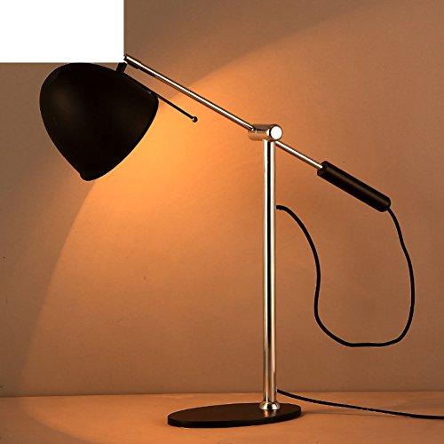 den camera da letto lampada da comodino/Creative ferro dell'oscillazione del doppio braccio lampada da
