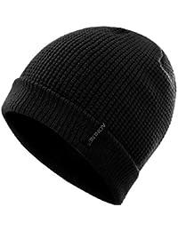 TRIWONDER Sombrero de Invierno Beanie Knit Slouch Hat Gorro Skull Hat Sombrero de Lana para Hombres