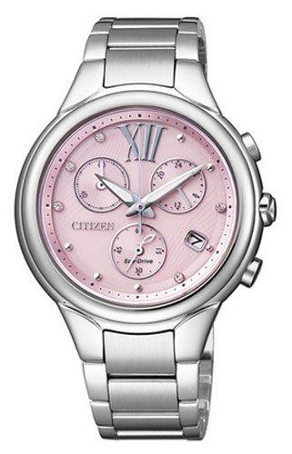 Citizen l crono eco drive fb1311-50w - orologio da polso donna