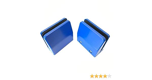 6 mm 2 St/ück 4 hawkeng B/üro-Schreibtisch-Trennwand Trennwand Halterung Regalclip Sichtschutzklemme Trennwand Nieslehre f/ür Glas oder Acryl Wei/ß