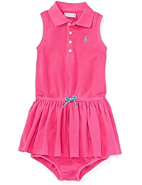 54fa891cc8df Amazon.co.uk  Ralph Lauren - Baby Girls 0-24m   Baby  Clothing