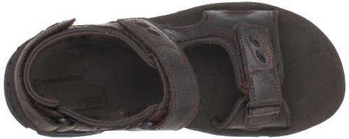 Rockport Cc 3 Strap, Sandales homme Marron (Dark brown)