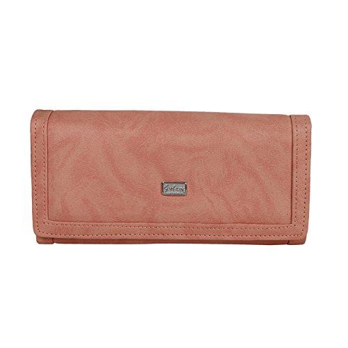 Regalia™ Women's Designer Party Hand Wallet {Peach}