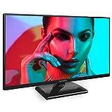 """Kiano Slim TV 22"""" Pollice [55 cm, Full HD] (Triple Tuner, DVB-T2, CI, CI+) Lettore multimediale tramite porta USB, Televisore 22 Pollice (PVR, Dolby Audio, HDMI, LED, Direct LED, FHD) Classe A"""