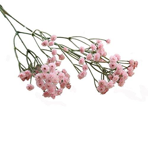 Schön Unechte Blumen, Sonnena 5 Stück Gefälschte Blumen Rosen Seide Kunstblume Bridal Bouquet Hochzeit Blumenstrauß Party Garten Blumen-Bouquet Hortensie Dekoration Wohnaccessoires …
