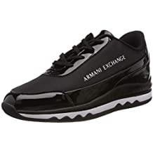 ARMANI EXCHANGE Nylon Lace Up Sneaker bd5c3396b12