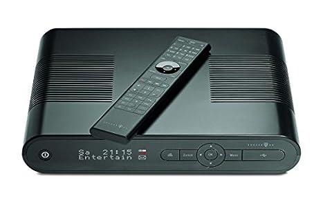 Telekom MR 303 Media Receiver mit 500GB Festplatte (SCART/HDMI-Kabel, 4MB Flash-Speicher, 720p/1080i) schwarz