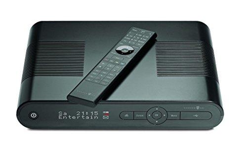 Preisvergleich Produktbild Telekom MR 303 Media Receiver mit 500GB Festplatte (SCART/HDMI-Kabel, 4MB Flash-Speicher, 720p/1080i) schwarz