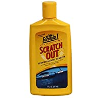 Formula 1 Scratch Out - Scratch Remover for All Auto Paint Finishes Liquid Wax 207ml