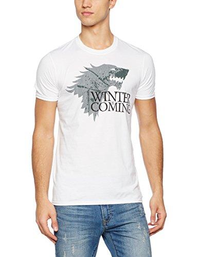 Game of Thrones Herren T-Shirt Winter White (WHITE)