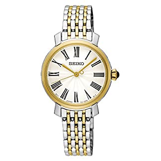 Seiko Analog White Dial Women's Watch-SRZ496P1