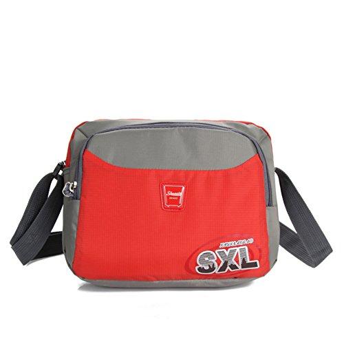 borsa a tracolla Ms. all'aperto/tempo libero pacchetto diagonale/estate pacchetto portatile leggero/Packet afflusso di uomini-F D