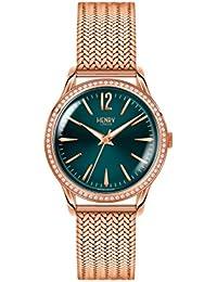 Henry London Reloj Analógico para Mujer de Cuarzo con Correa en Acero Inoxidable 5018479082705