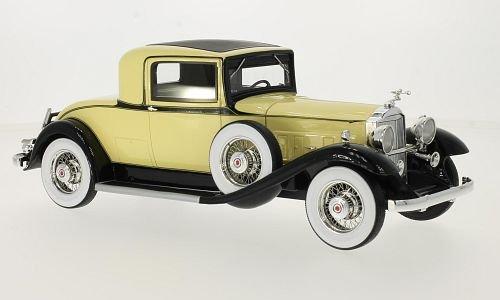 packard-902-standard-eight-coupe-hellgelb-schwarz-1932-massstab-118-resine-fertigmodell-bos-models