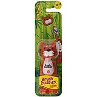Poppin , Con Dientes Toby Tiger, Suave, 1 Cepillo De Dientes - Cepillo Buddies