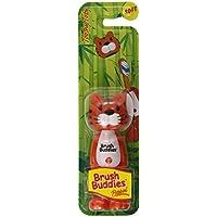 Poppin, Con Dientes Toby Tiger, Suave, 1 Cepillo De Dientes - Cepillo Buddies