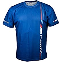 BMW M Power M3 M5 Auto Camiseta Manga Corta Azul Regalo T Shirt Auto Car Graphics Tee