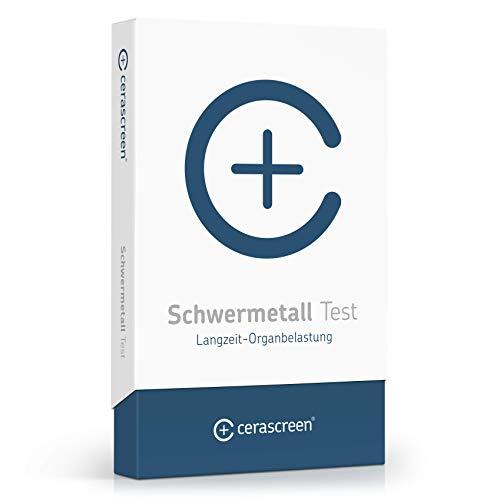 Schwermetall Test Kit von CERASCREEN - Jetzt auf Aluminum, Arsen, Blei, Cadmium, Chrom, Cobalt, Kupfer, Nickel, Quecksilber, Zink von zuhause messen | Urintest