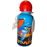 Batman Kids Sports Drinks Aluminium Bottle With Attached Lid