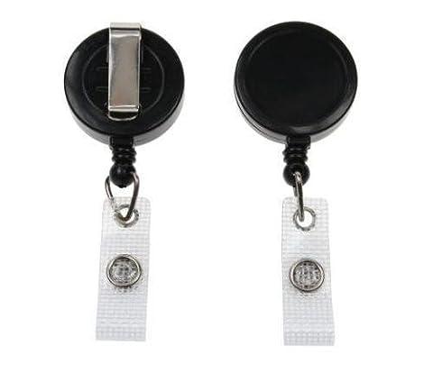 Medium Duty Retractable Badge Reel - Ski Pass/Door Pass Holder YoYo (5)