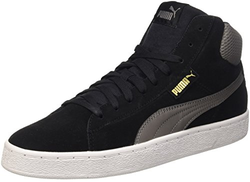 Puma 1948 Mid Sneaker da uomo, colore nero (nero/steel gray), taglia 44 EU (9.5 UK)