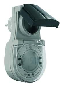elro te624 zeitschaltuhr mit d mmerungsschalter und digitaler timerfunktion baumarkt. Black Bedroom Furniture Sets. Home Design Ideas