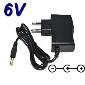 Adaptateur Secteur Alimentation Chargeur 6V pour Remplacement SONY AC-E616