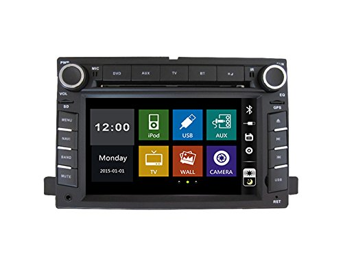 15,7cm Auto DVD-Player mit CANBUS BT/TV, Unterstützung Kamera, Lenkradfernbedienung, USB/SD, Audio Radio Stereo, Car Multimedia für Ford Fusion/Explorer/F150/Edge/Expedition 2006200720082009 (2008 Edge Ford)