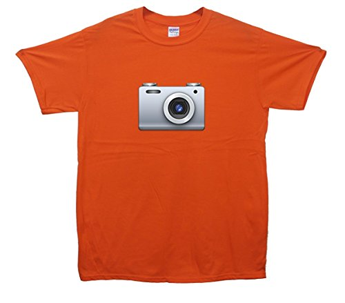 Camera Emoji T-Shirt Orange
