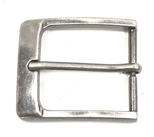 Gürtelschnalle Vintage antik Buckle 40 mm Metall Dornschließe für Gürtel mit 4 cm Breite M 4