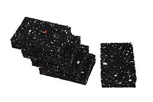 gummigranulat terrassen pads gummis 20 mm stark f r wpc holz terrassen stelzlager dielen bau. Black Bedroom Furniture Sets. Home Design Ideas