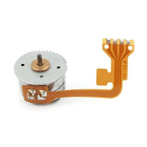 Getriebewelle 2 Draht der Phase 4 Micro-Schritt-Schrittmotor 15 mm x 10 mm DC 3-6V -