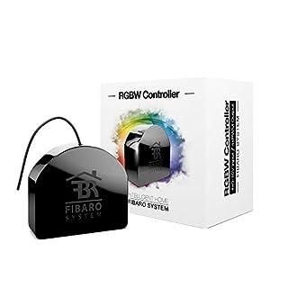 Fibaro RGB Module FGRGBWM-441 - Reguladores inteligentes de luz (RF inalámbrico, Batería, Negro, 1/2AA, Z-Wave, DS18B20) (B00DZ3VKZS) | Amazon Products